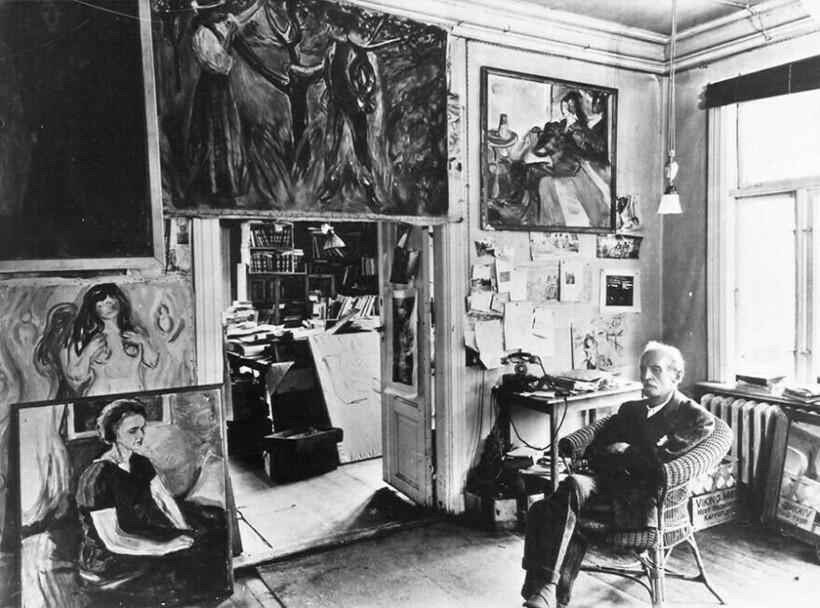 Где создавались шедевры: 10 мастерских известных художников