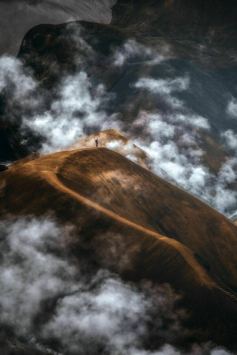 Страна огня и льда на снимках немецкого кочевника