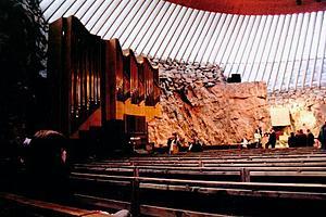 Церковь Темппелиаукио (Церковь в скале)