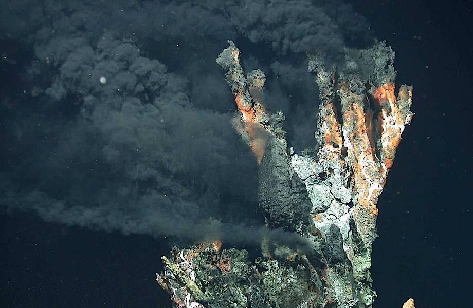 «Чёрные курильщики» — дыхание океана