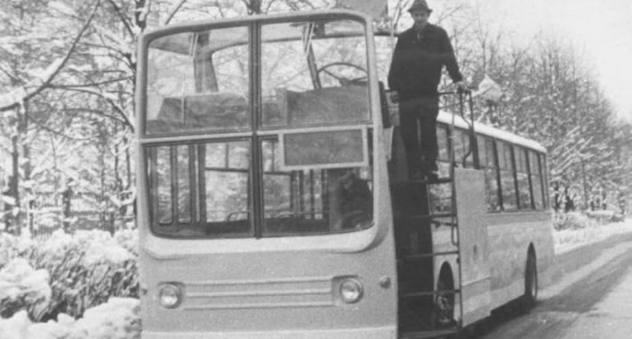 Фото дня: экспериментальный автобус НАМИ–0159, 1975 год