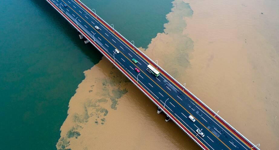 Фото дня: река Хан после ливней
