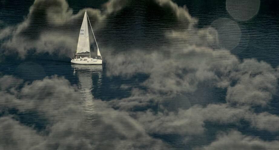 Фото дня: мечтательный пейзаж Днепра