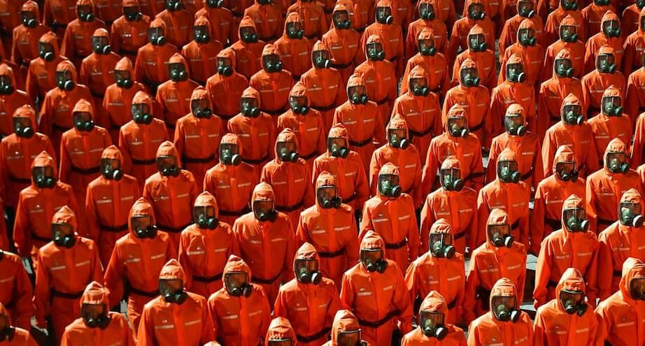 Фото дня: торжественный парад в Пхеньяне